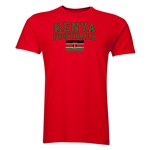 Kenya Football T-Shirt (Red)