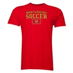 Montenegro Soccer T-Shirt (Red)