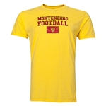 Montenegro Football T-Shirt (Yellow)