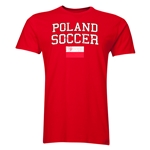 Poland Soccer T-Shirt (Red)