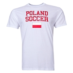Poland Soccer T-Shirt (White)