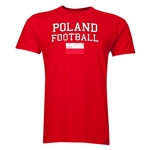 Poland Football T-Shirt (Red)