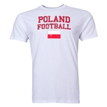 Poland Football T-Shirt (White)