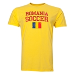 Romania Soccer T-Shirt (Yellow)