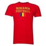 Romania Football T-Shirt (Red)