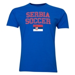 Serbia Soccer T-Shirt (Royal)