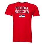 Serbia Soccer T-Shirt (Red)