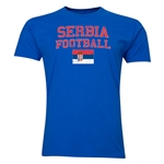 Serbia Football T-Shirt (Royal)