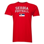 Serbia Football T-Shirt (Red)
