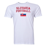 Slovakia Football T-Shirt (White)