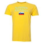 Slovenia Football T-Shirt (Yellow)