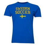Sweden Soccer T-Shirt (Royal)