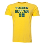 Sweden Soccer T-Shirt (Yellow)