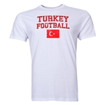 Turkey Football T-Shirt (White)