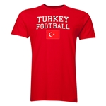 Turkey Football T-Shirt (Red)