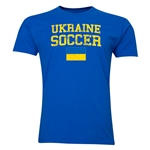 Ukraine Soccer T-Shirt (Royal)