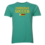 Zimbabwe Soccer T-Shirt (Heather Green)