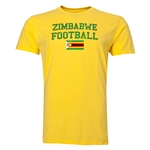 Zimbabwe Football T-Shirt (Yellow)