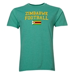 Zimbabwe Football T-Shirt (Heather Green)