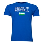 Uzbekistan Football T-Shirt (Royal)