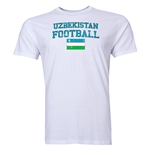 Uzbekistan Football T-Shirt (White)