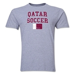 Qatar Soccer T-Shirt (Grey)
