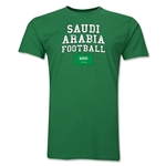Saudi Arabia Football T-Shirt (Green)
