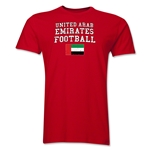 United Arab Emirates Football T-Shirt (Red)