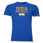 India Football T-Shirt (Royal)