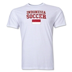 Indonesia Soccer T-Shirt (White)