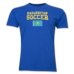Kazakhstan Soccer T-Shirt (Royal)