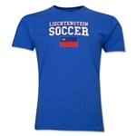 Liechtenstein Soccer T-Shirt (Royal)