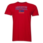 Liechtenstein Football T-Shirt (Red)