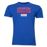 Luxembourg Soccer T-Shirt (Royal)