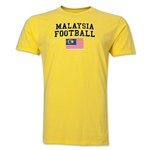 Malaysia Football T-Shirt (Yellow)