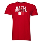 Malta Soccer T-Shirt (Red)