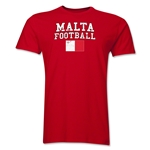 Malta Football T-Shirt (Red)