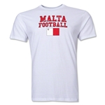 Malta Football T-Shirt (White)