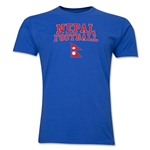 Nepal Football T-Shirt (Royal)