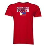 Philippines Soccer T-Shirt (Red)