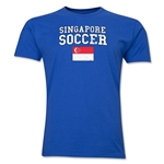 Singapore Soccer T-Shirt (Royal)