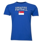 Singapore Football T-Shirt (Royal)