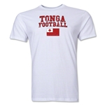 Tonga Football T-Shirt (White)