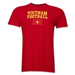 Vietnam Football T-Shirt (Red)