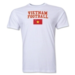 Vietnam Football T-Shirt (White)