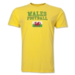 Wales Football T-Shirt (Yellow)