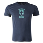 I Stand Up Against Bullying T-Shirt (Navy)