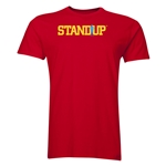 StandUp Logo Men's Fashion T-Shirt (Red)