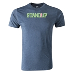 StandUp Logo Men's Fashion T-Shirt (Blue)