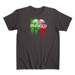 Mexico Men's Fashion T-Shirt (Black)